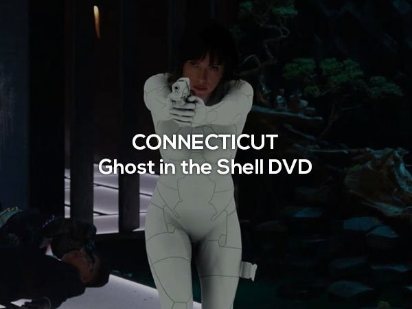 Shoulder - CONNECTICUT Ghost in the Shell DVD