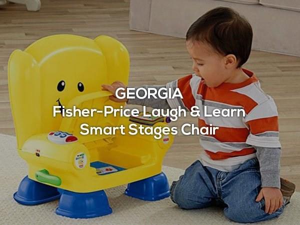 Child - GEORGIA Fisher-Price Laugh & Learn Smart Stages Chair