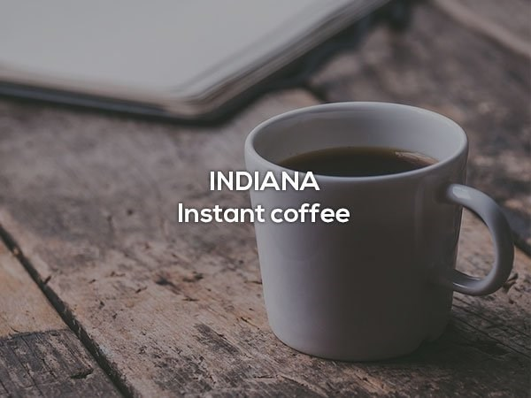 Cup - INDIANA Instant coffee