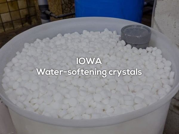 Product - IOWA Water-softening crystals