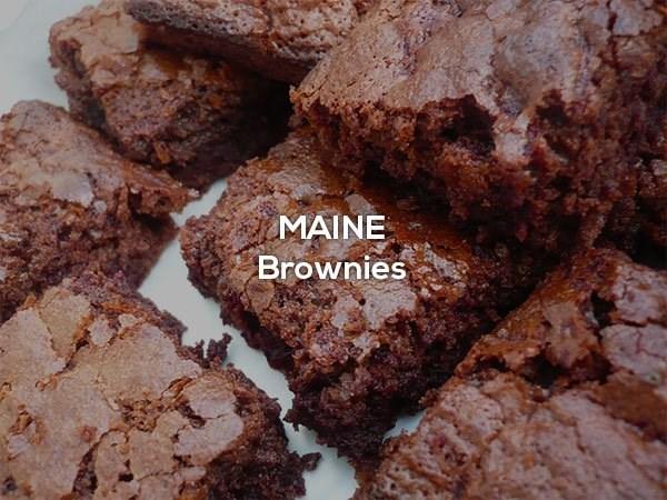Chocolate brownie - MAINE Brownies