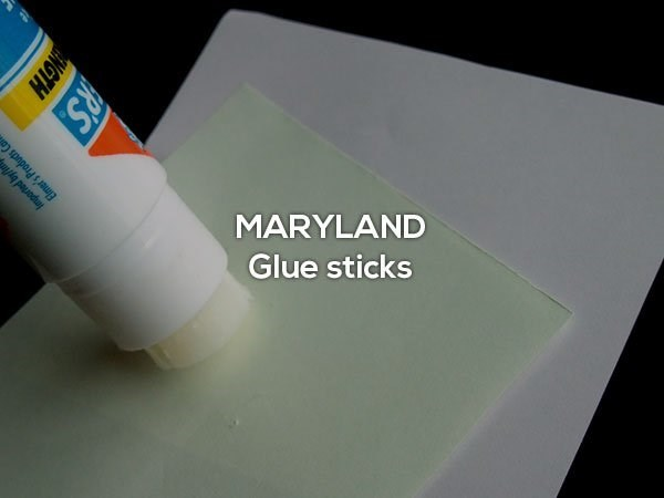 Product - MARYLAND Glue sticks Amported by/ Elmer's Products R'S NGTH