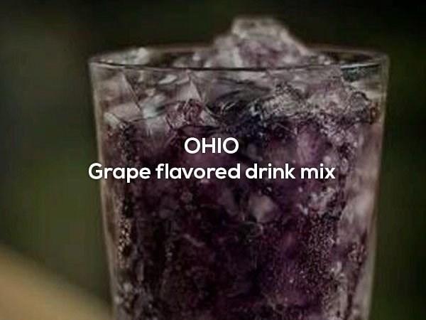 Glass - ОIНО Grape flavored drink mix