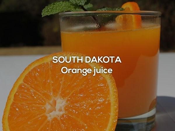 Orange drink - SOUTH DAKOTA Orange juice
