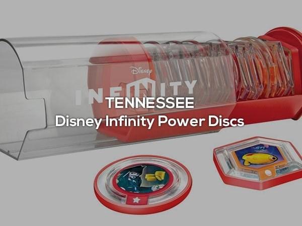 Product - INEMNITY TENNESSEE Disney Infinity Power Discs
