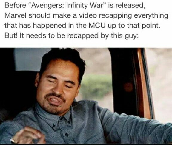 before avengers infinity wars marvel should make a video recapping