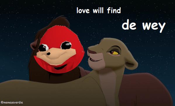 Animated cartoon - love will find de wey @memeseverdie