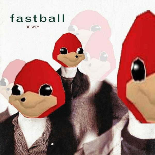 Animated cartoon - fastball DE WEY