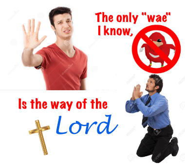 """T'ai chi ch'uan - The only """"wae"""" Iknow, Is the way of the Lord 12R"""
