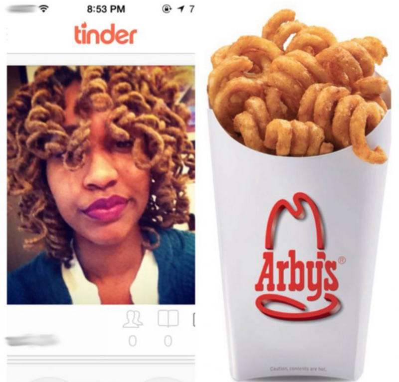 Food - @ 17 8:53 PM tinder Arby's 0 Caution contents are ht