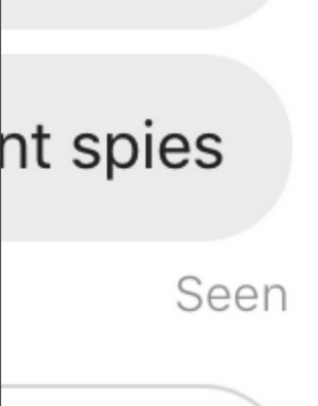 Text - nt spies Seen