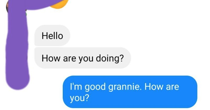 Nigerian scammer pretends to be a guy's grandmother, so he has some fun with them.