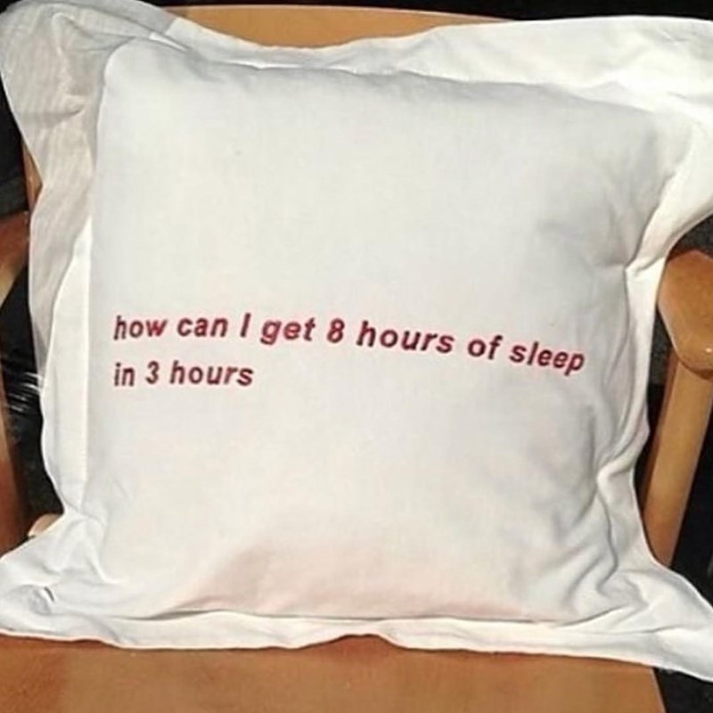 White - how can I get 8 hours of sleep in 3 hours