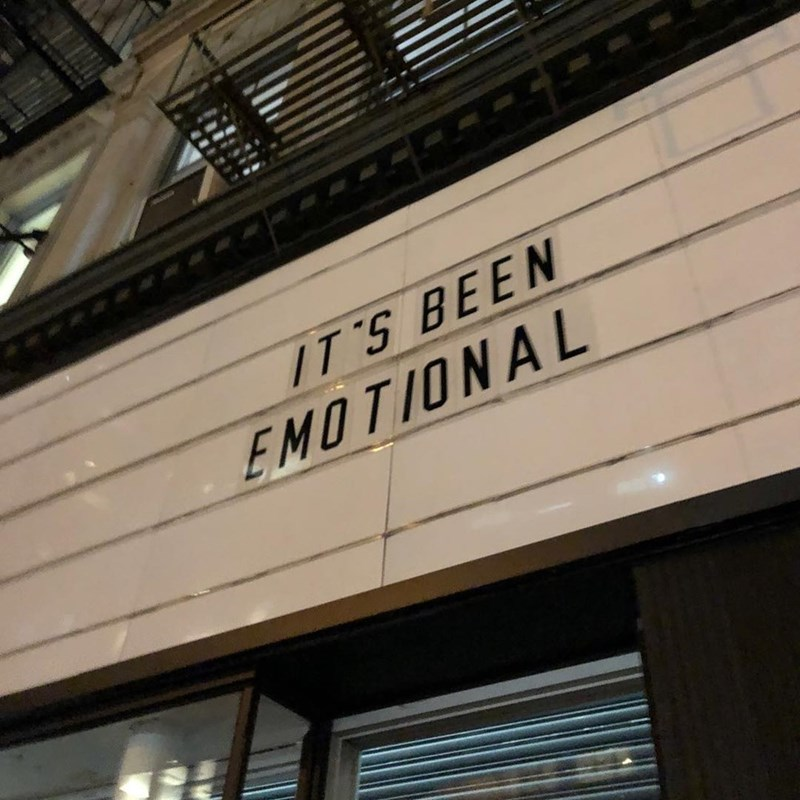 Font - IT'S BEEN EMOTIONAL