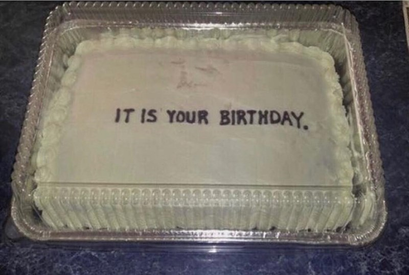 Rectangle - IT IS YOUR BIRTHDAY.