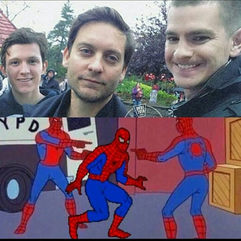 funny spider-man meme.