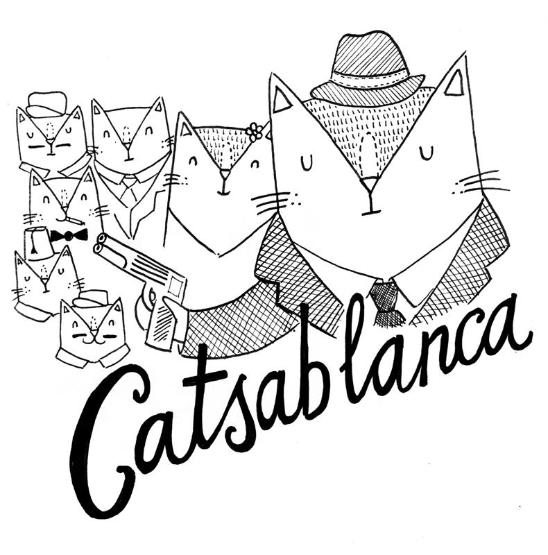 White - Catgablanca