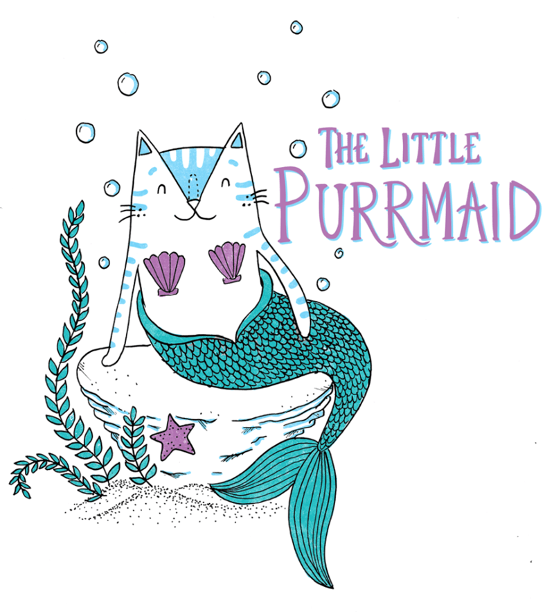 Font - THE LITTLE PURRMAID