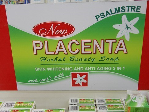 funny product name - Advertising - L Toctor PSALMSTRE New PLACENTA Herbal Beauty Soap SKIN WHITENING AND ANTI-AGING 2 IN 1 with goat's milk P EN