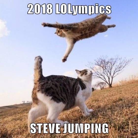 Photo caption - 2018 LOLympics STEVEJUMPING