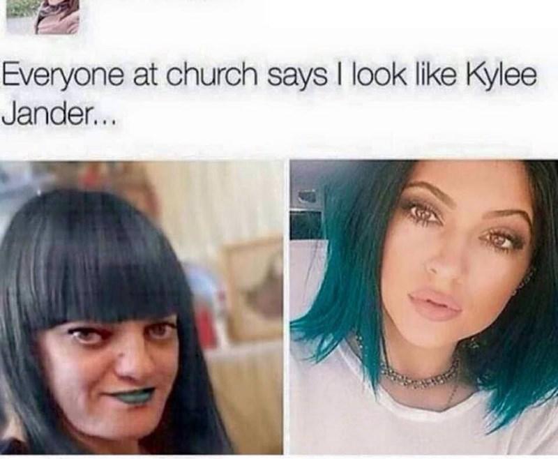 Hair - Everyone at church says I look like Kylee Jander...
