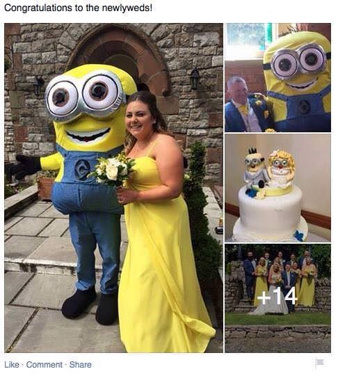 Yellow - Congratulations to the newlyweds! +14 Like Comment Share