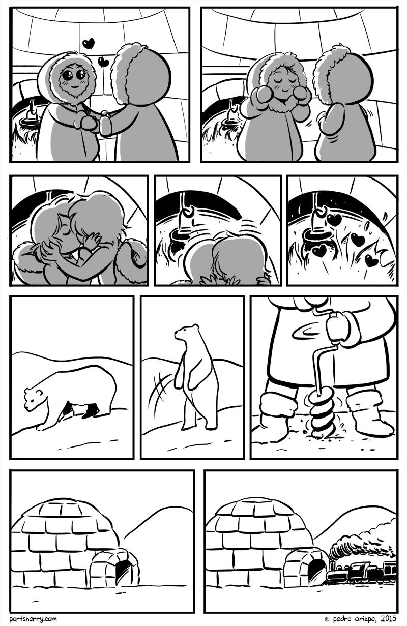 dos esquimales haciendo el amor