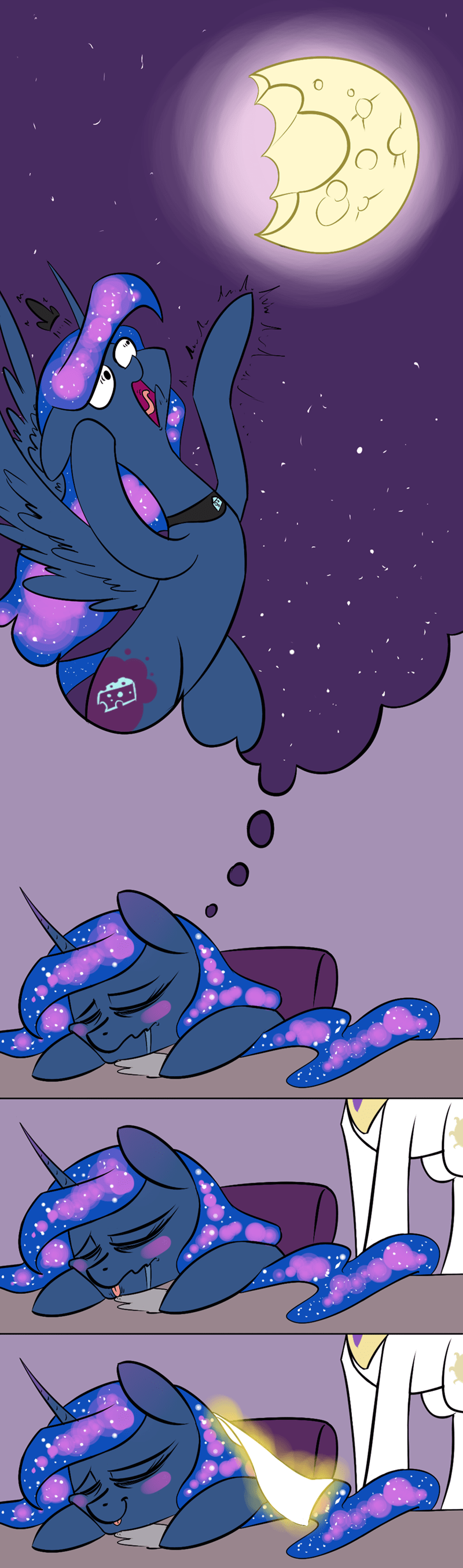 repost maybe underpable princess luna princess celestia - 9116586752
