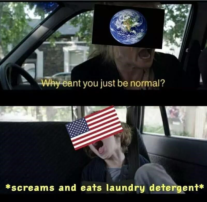 why can earth just be normal
