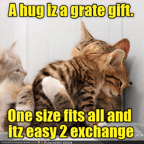 Cat - Ahugizagrate gift One size fits alland Itzeasy 2 exchange ICANHASCHEEZEURGER cOM chech1965 100118