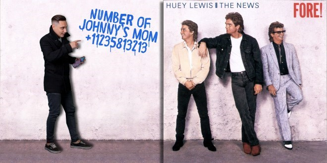 Gentleman - FORE! HUEY LEWISITHE NEWS NUMBER OF JOHNNY'S MOM +11235813213