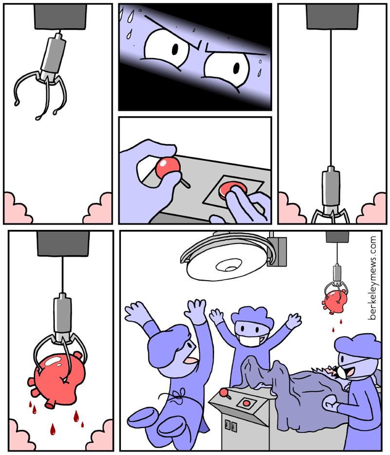 juego de operacion en donde es un corazon real