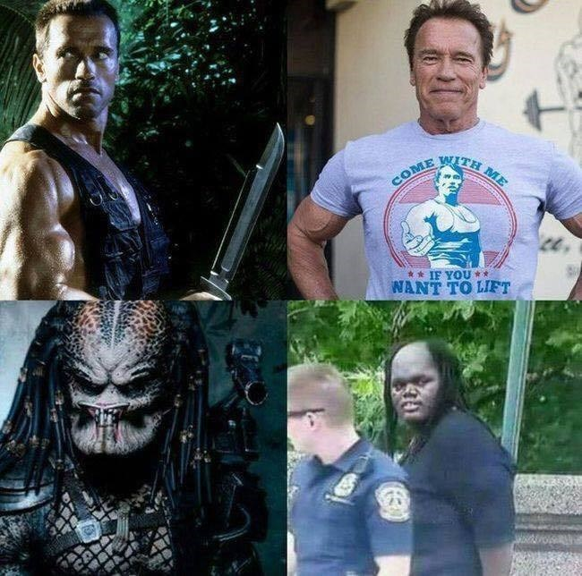 arnold and predator getting old