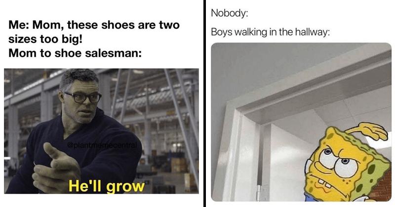 Funny random memes, Marvel memes, Incredible Hulk memes, relatable memes, spongebob memes, memes about parents, avengers memes.