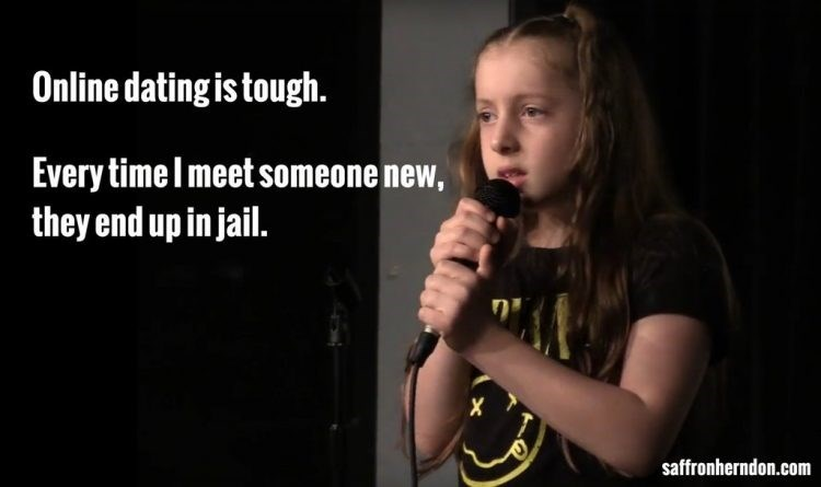 Singing - Online dating is tough. Every time Imeet someone new, they end up in jail X saffronherndon.com