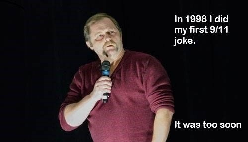 Microphone - In 1998 I did my first 9/11 joke. It was too soon