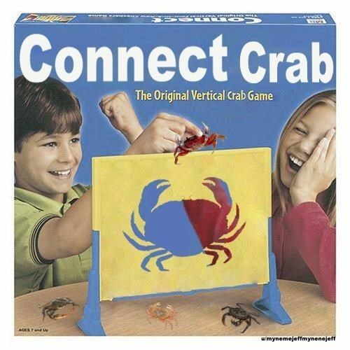 Finger - wwwwso OU Connect Crab The Original Vertical Crab Game wmynemejeffmynenejeff
