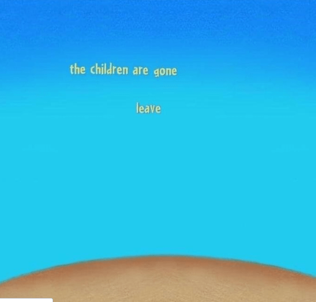 Blue - the children are gone leave