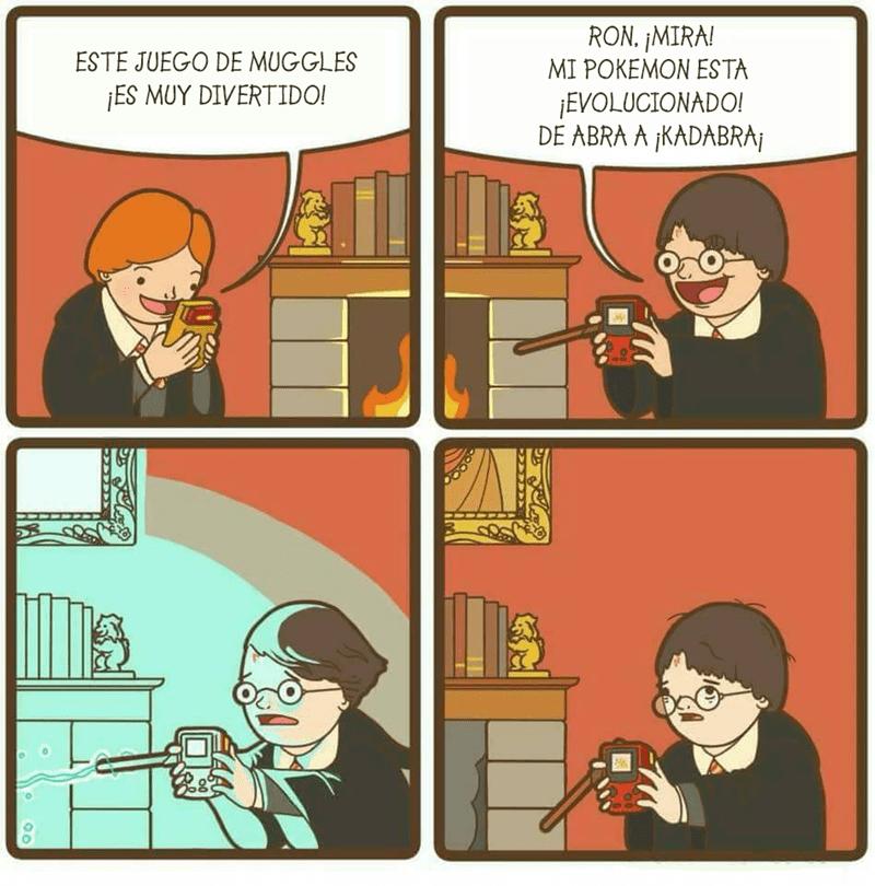 las gameboy estaban prohibidas en Hogwarts