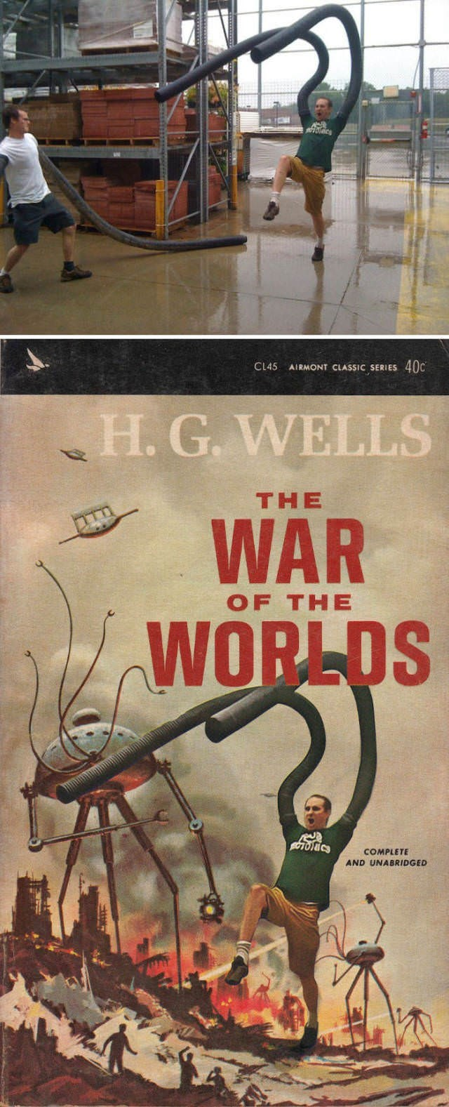 Text - AIRMONT CLASSIC SERIES 40C CL45 H. G. WELLS THE WAR OF THE WORLDS BOTOICS COMPLETE AND UNABRIDGED