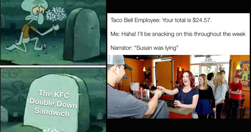 Funny fast food memes