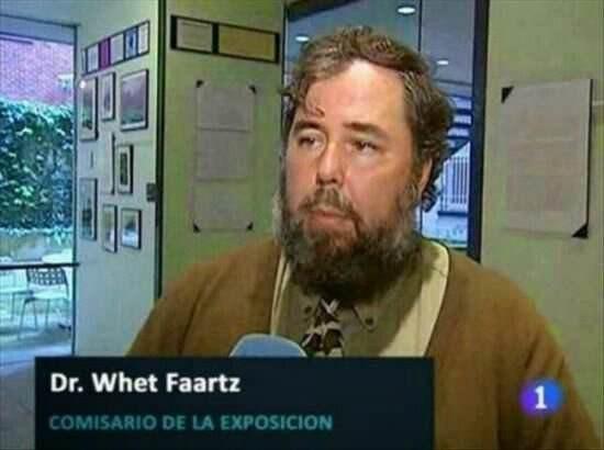 meme - Facial hair - Dr. Whet Faartz 1 COMISARIO DE LA EXPOSICION