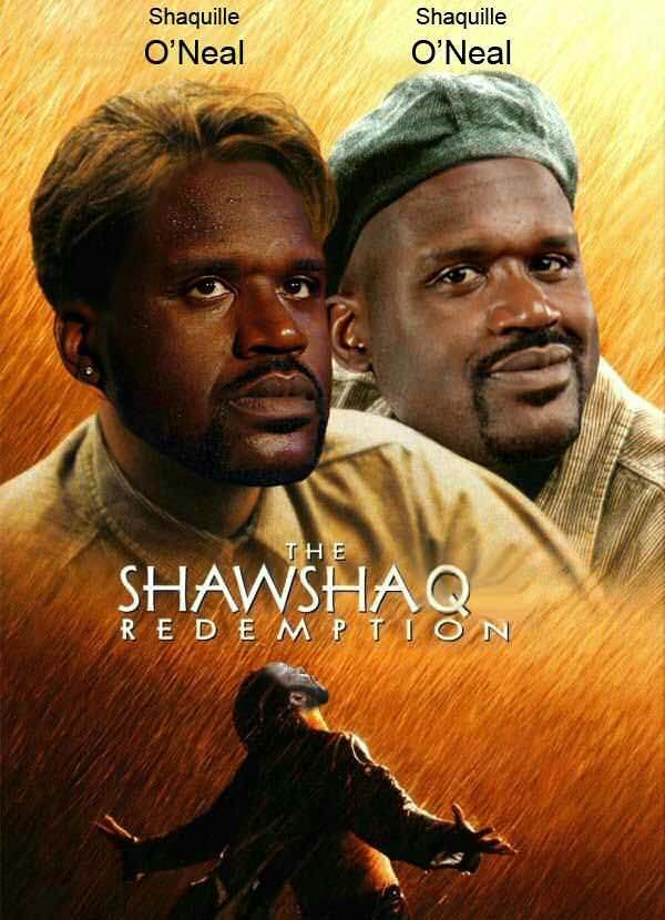 Movie - Shaquille Shaquille O'Neal O'Neal THE SHAWSHAQ RED E M PTI
