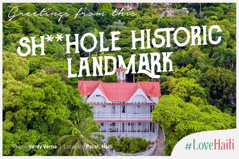 Nature - Gractnga finm th SH *HOLE HISTORIC LANDMARK #LoveHaiti Photo Verdy Verna Location Pacot, Haiti