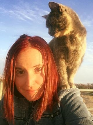 awkward selfies with a cat - Felidae