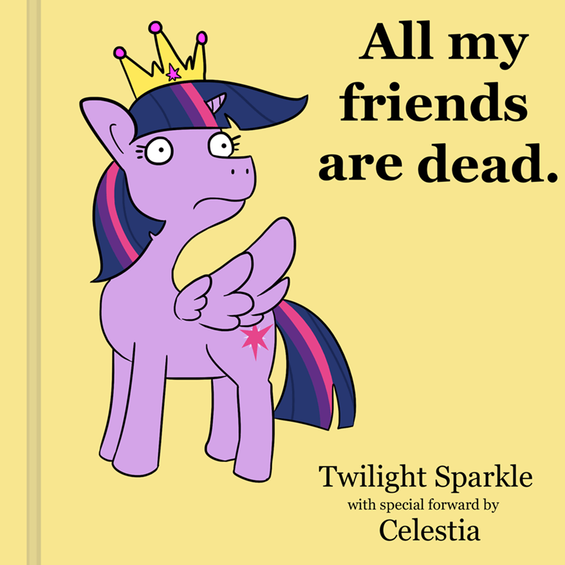tj pones twilight sparkle ponify All My Friends Are Dead - 9120705024