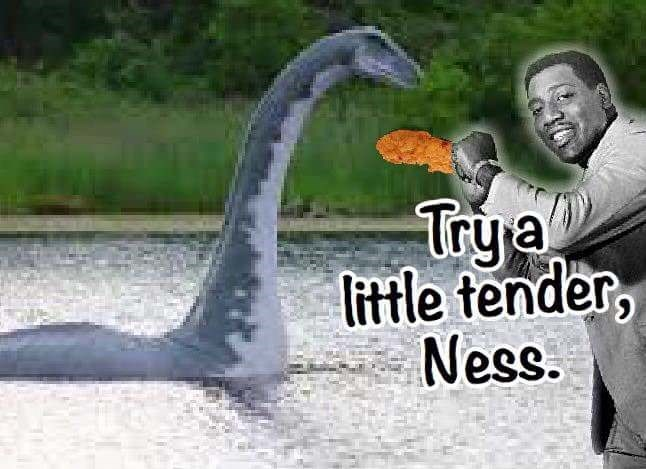 Water - Try a little tender, Ness.
