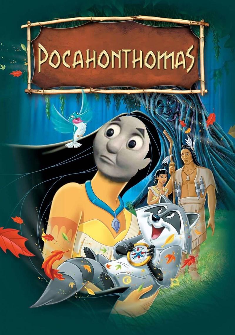 Animated cartoon - POCAHONTHOMAS