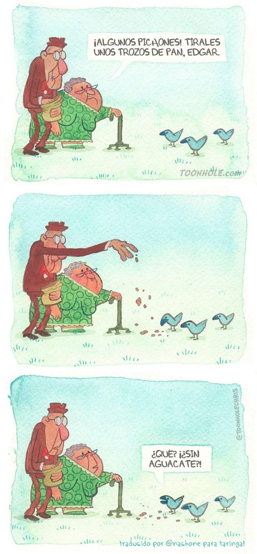 palomas muy exigentes comics Nachone