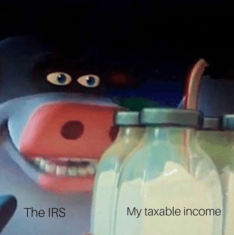 Facial expression - The IRS My taxable income